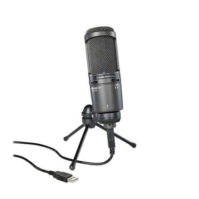 Micrófono USB de Condensador Cardioide Audio-Technica AT2020USB+