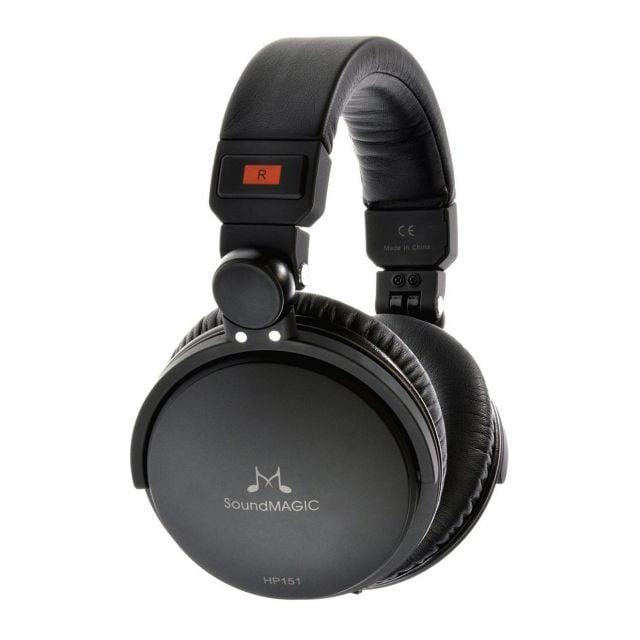 SoundMAGIC HP151 Audifonos Cerrados con Cable Reemplazable