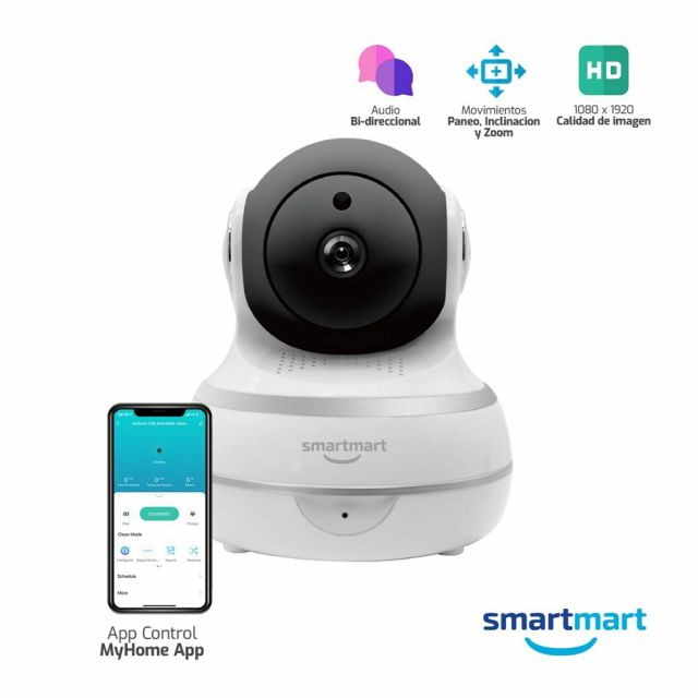 Cámara Wi-Fi Inteligente SmartMart F3
