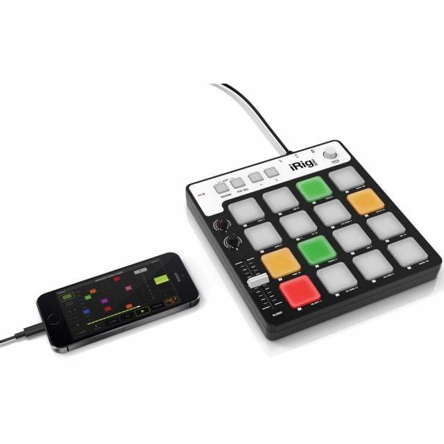 Controlador MIDI USB para iOS, Android y PC iRig Pads IK Multimedia