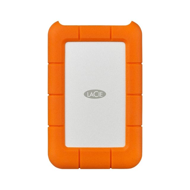 Disco duro externo LaCie 2TB Rugged USB 3.0 Type-C