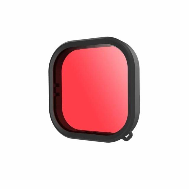 Filtro Rojo de Buceo para Gopro Hero 9 Telesin