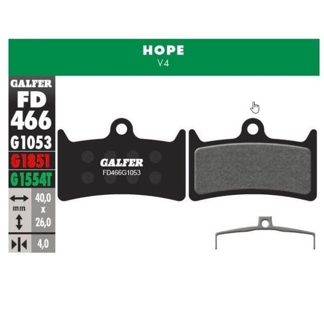 Galfer Pastillas Hope V4 (Standard)
