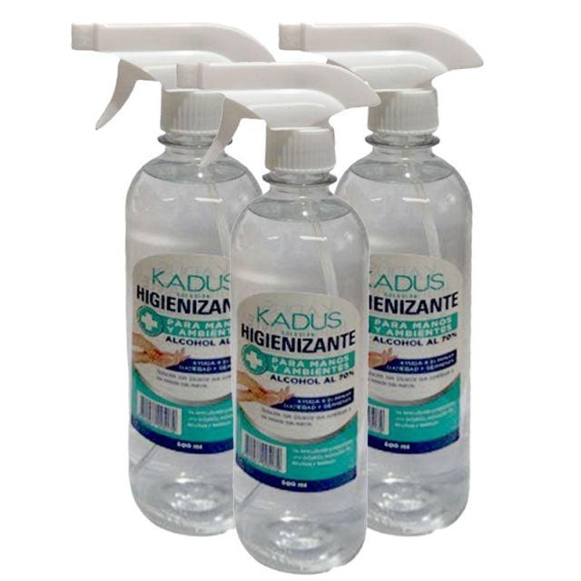 Pack de 3 Spray Higienizante para Manos y Ambientes