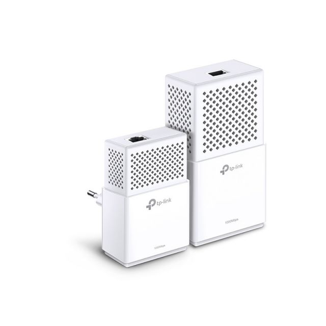 KIT de Adaptadores Wi-Fi TP Link Powerline Gigabit AV1000  1