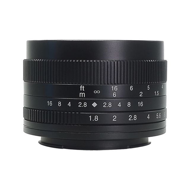 Lente 7artisans Fotoeléctrica 50mm f  1.8 para Sony E