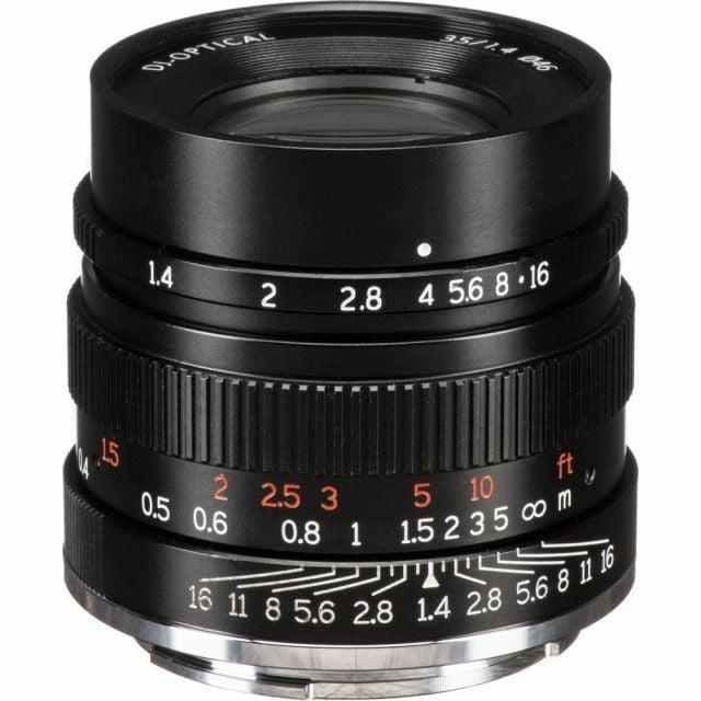 Lente 7artisans Fotoeléctrico 35mm f / 1.4 para Sony E