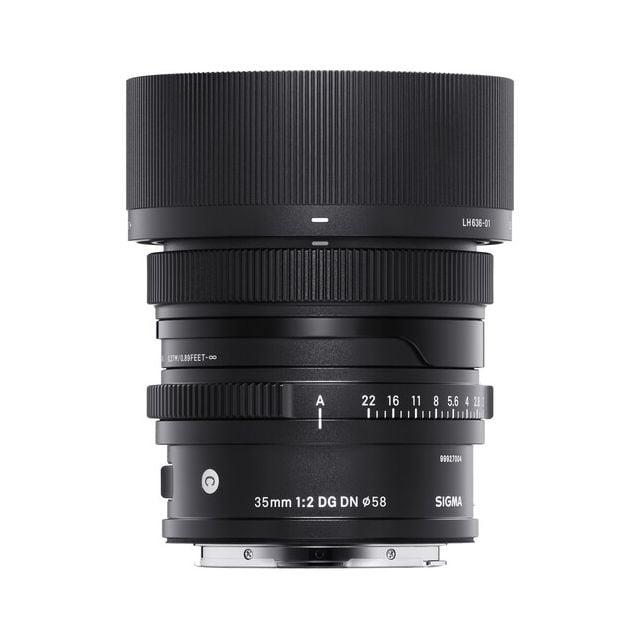 Lente Sigma 35mm f  2 DG DN Contemporary para Sony E