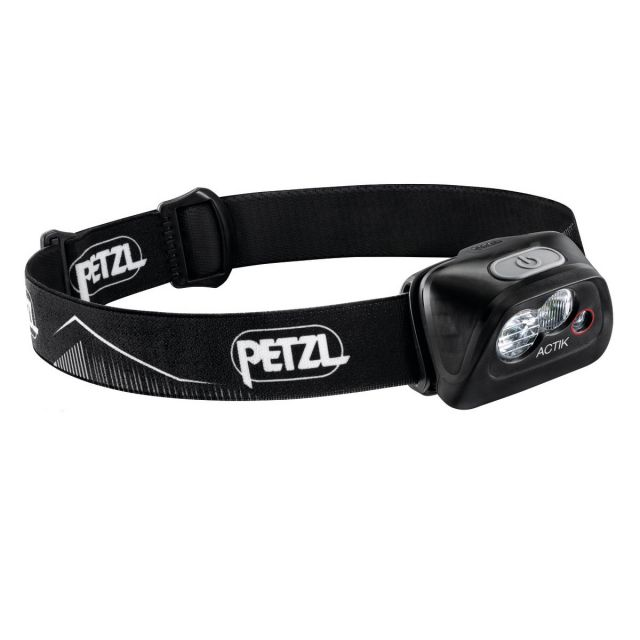 Linterna Frontal ACTIK Petzl Negro
