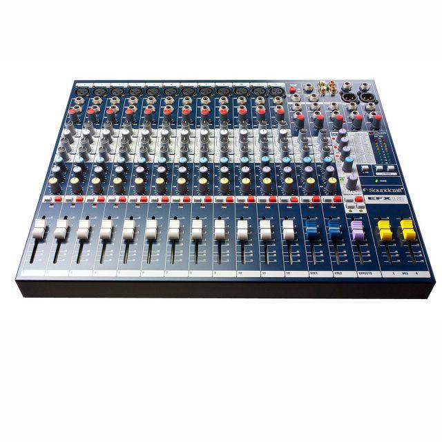 Mixer Soundcraft 12+2 Canales EFX12