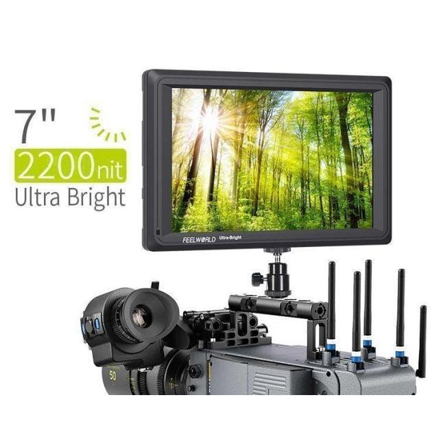 "Monitor de 4K ultrabrillante de 7 ""con HDMI de Cucle y 3G-SDI Feelworld"