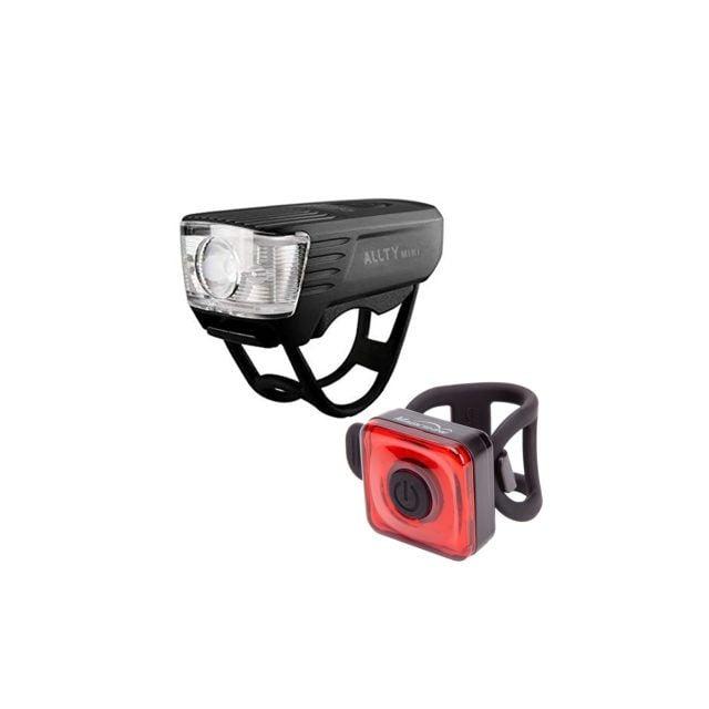 Pack de Luces de Bicicleta Allty Mini + Seemee 20 Magicshine