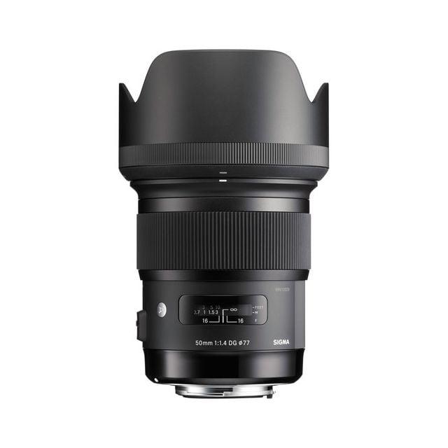 Lente Sigma 50mm f / 1.4 DG HSM Art Lens para Nikon