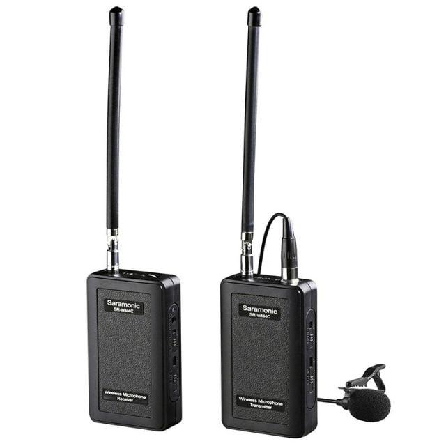 Sistema de Micrófono Inalámbrico VHF Saramonic 7