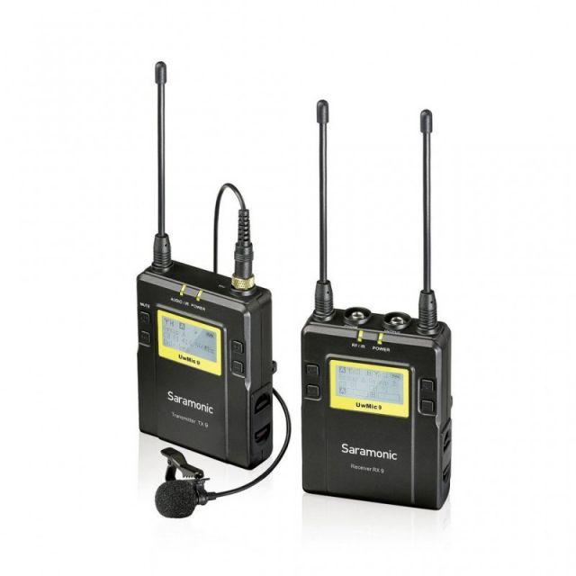 Lavalier InalambricoSaramonic UwMic9 kit (TX9+RX9) 1