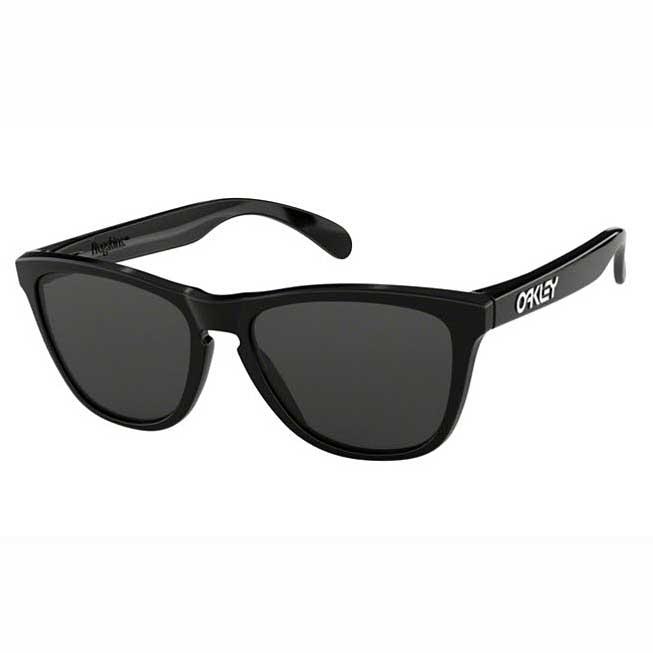 Anteojos De Sol Oakley Frogskins Negro Brillante - Knasta 427cbc4c1c