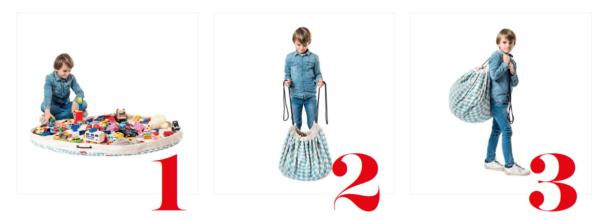 bolsa para juguetes play & go