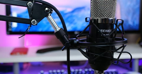 microfono condensador en chile