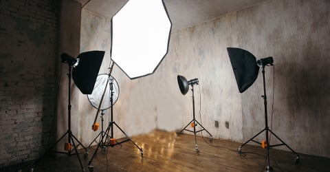 iluminacion profesional de video