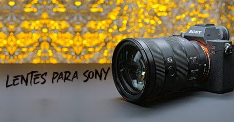 lentes de foto para sony