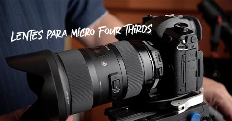 lentes de foto para Micro Four Thirds
