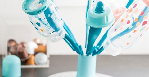 secador de mamaderas bebe