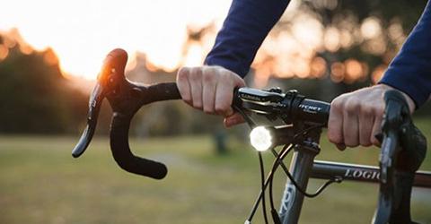 luces de bicicleta