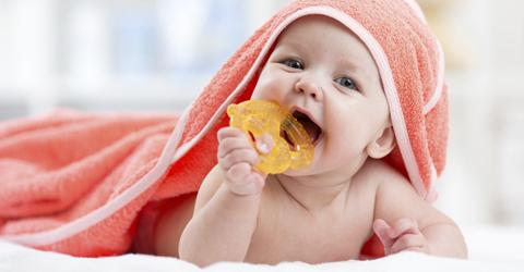 mordedores y sonajeros bebe