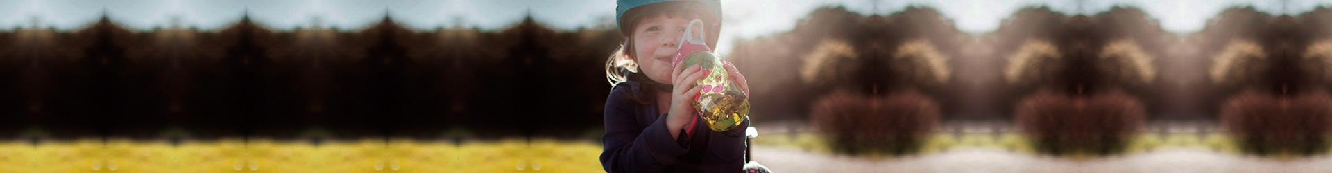 botella de agu para niños