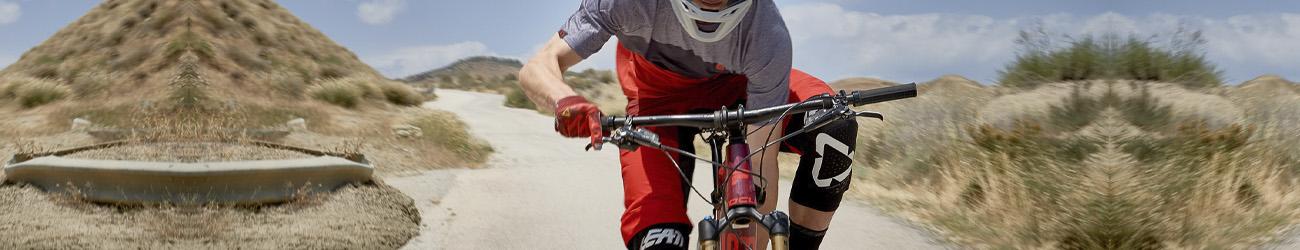 rodilleras para bicicleta