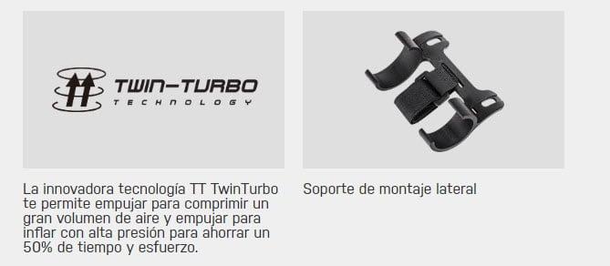 MONTAÑA TT TWIN TURBO