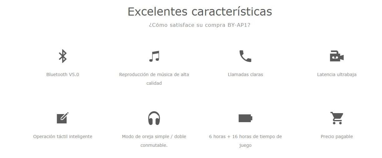 Audífonos inalámbricos Boya BY-AP1