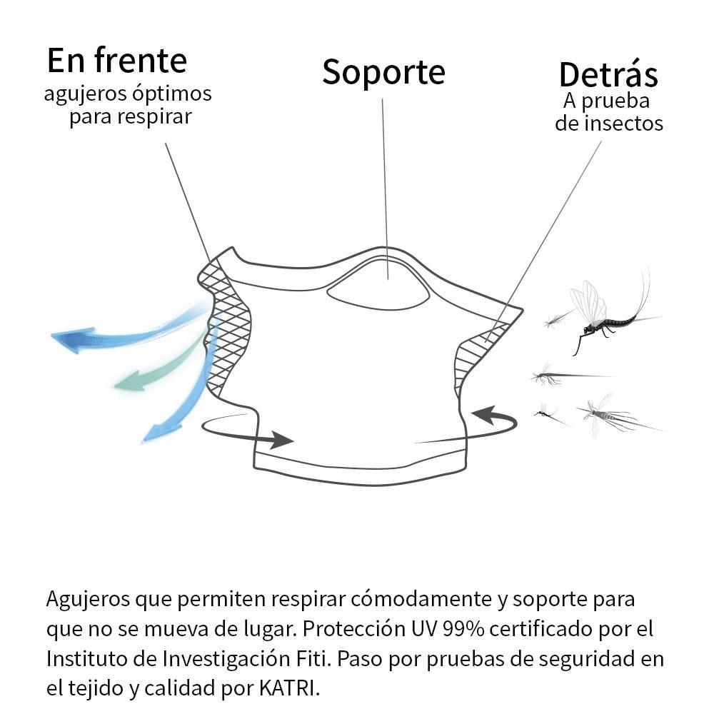 Mascarilla Deportiva Reversible Con Cuello X5