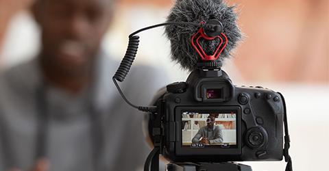 microfonos para tutoriales