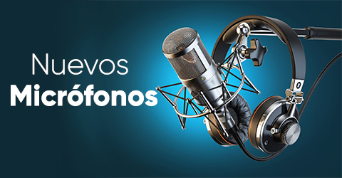 nuevos microfonos
