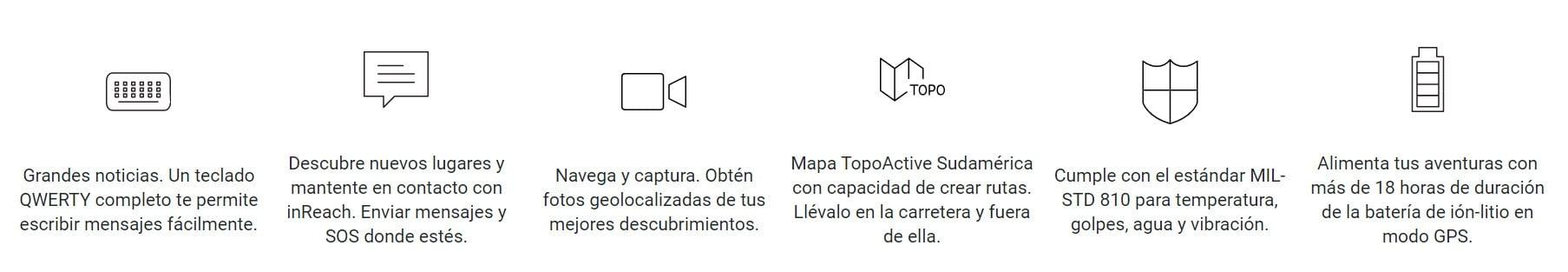 GPS Garmin Montana® 750i SudAmérica  Topo Active
