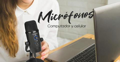 Microfonos para Celular y PC